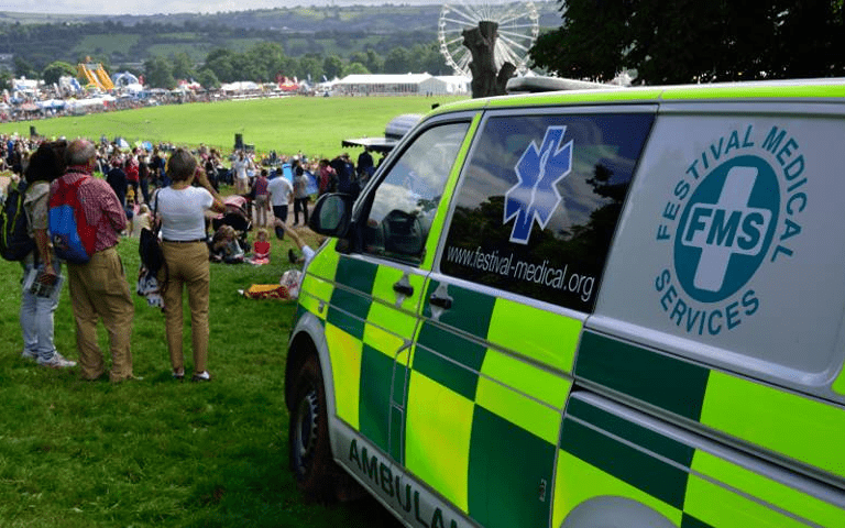 How Festival Medical Services worked with Give as you Live